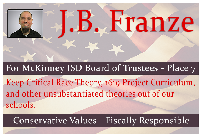 J.B. Franze for McKinney ISD Board of Trustees - Place 7